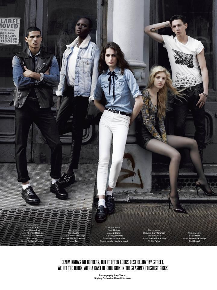 V Magazine - Mercer Street