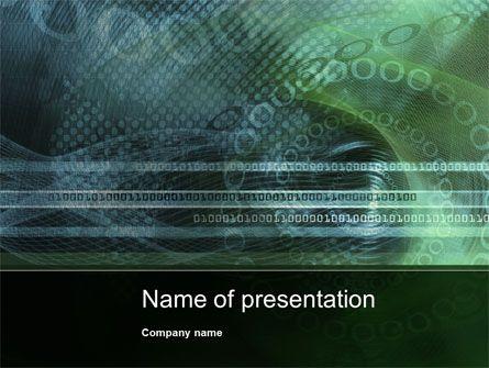 http://www.pptstar/powerpoint/template/binary-abstract/ binary, Modern powerpoint