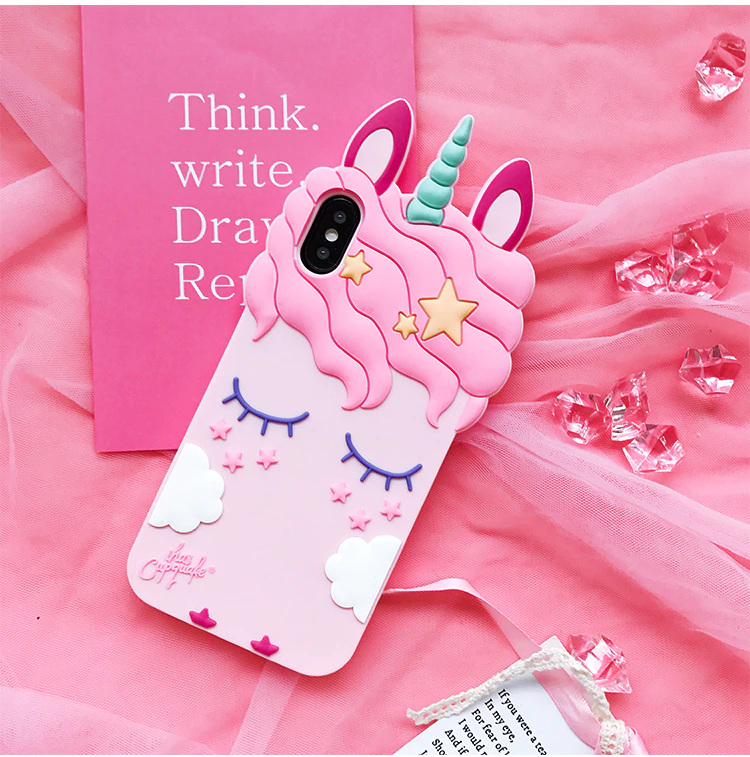 3D UNICORN IPHONE CASE 📱 Make a statement with this