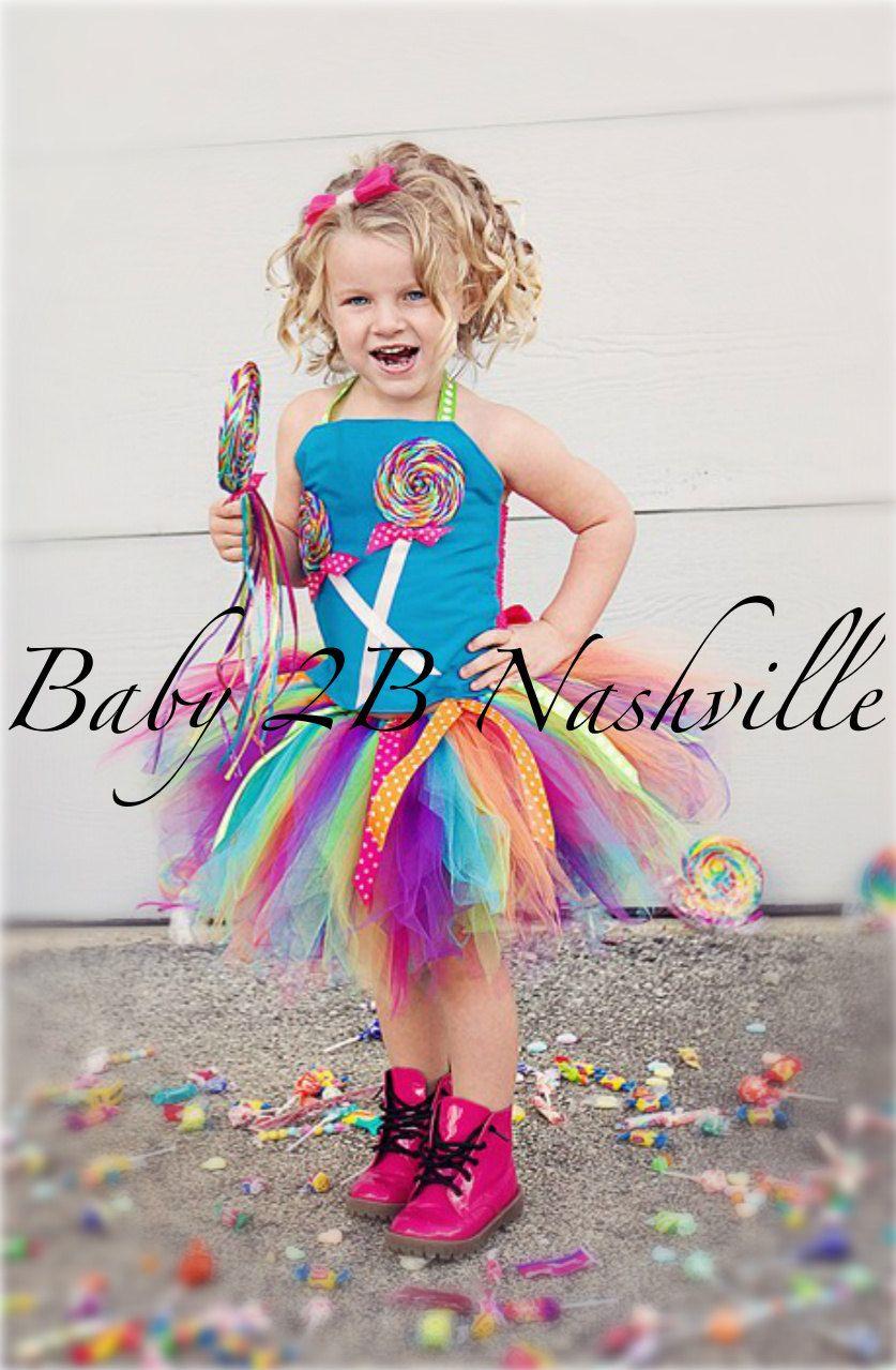 Toddler Candyland Lollipop Costume Set By Baby2Bnashville -4078