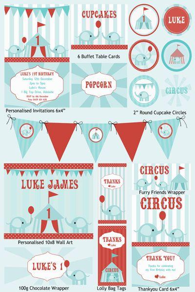 Vintage Circus Printables Best Custom Invitation Template Ps