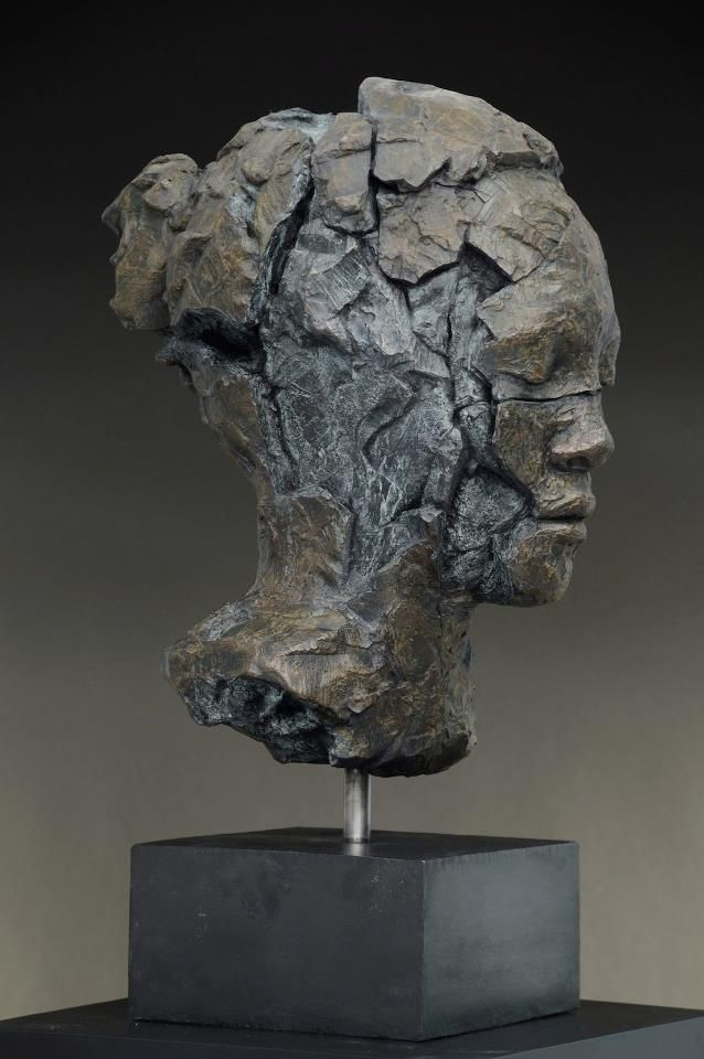 Broken Submerge, Bronze, 63 x 50 x 30cm, 2012