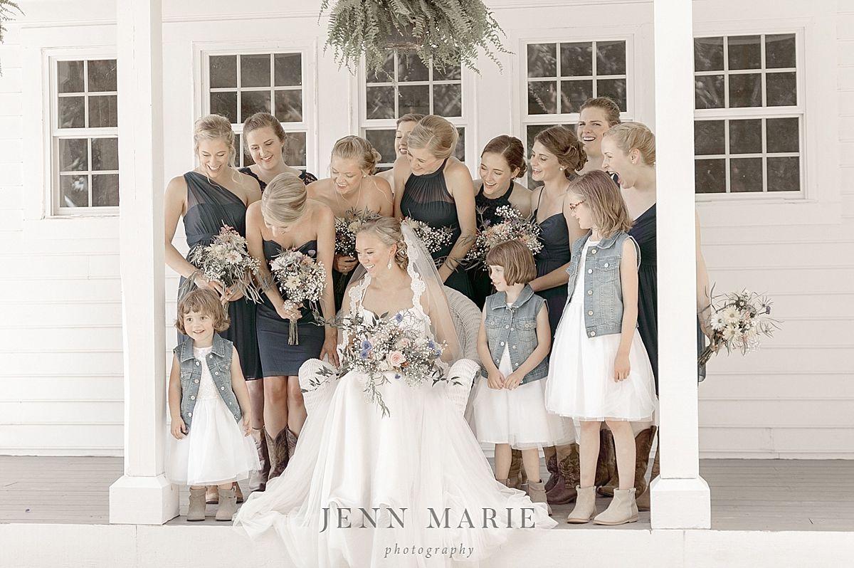 Summer wedding rustic wedding bridesmaid dresses tulle wedding