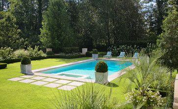 European Classic Rectangle Pool Pool Designs Backyard Pool Designs