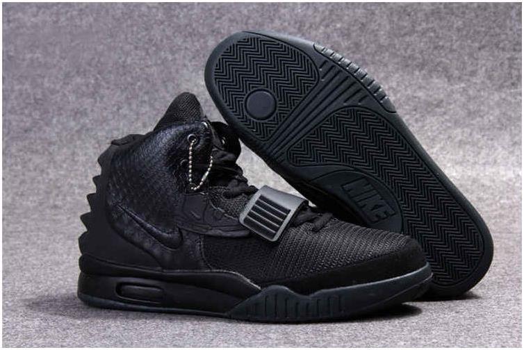 Nike Air Yeezy 2 All Black | Nike shoes