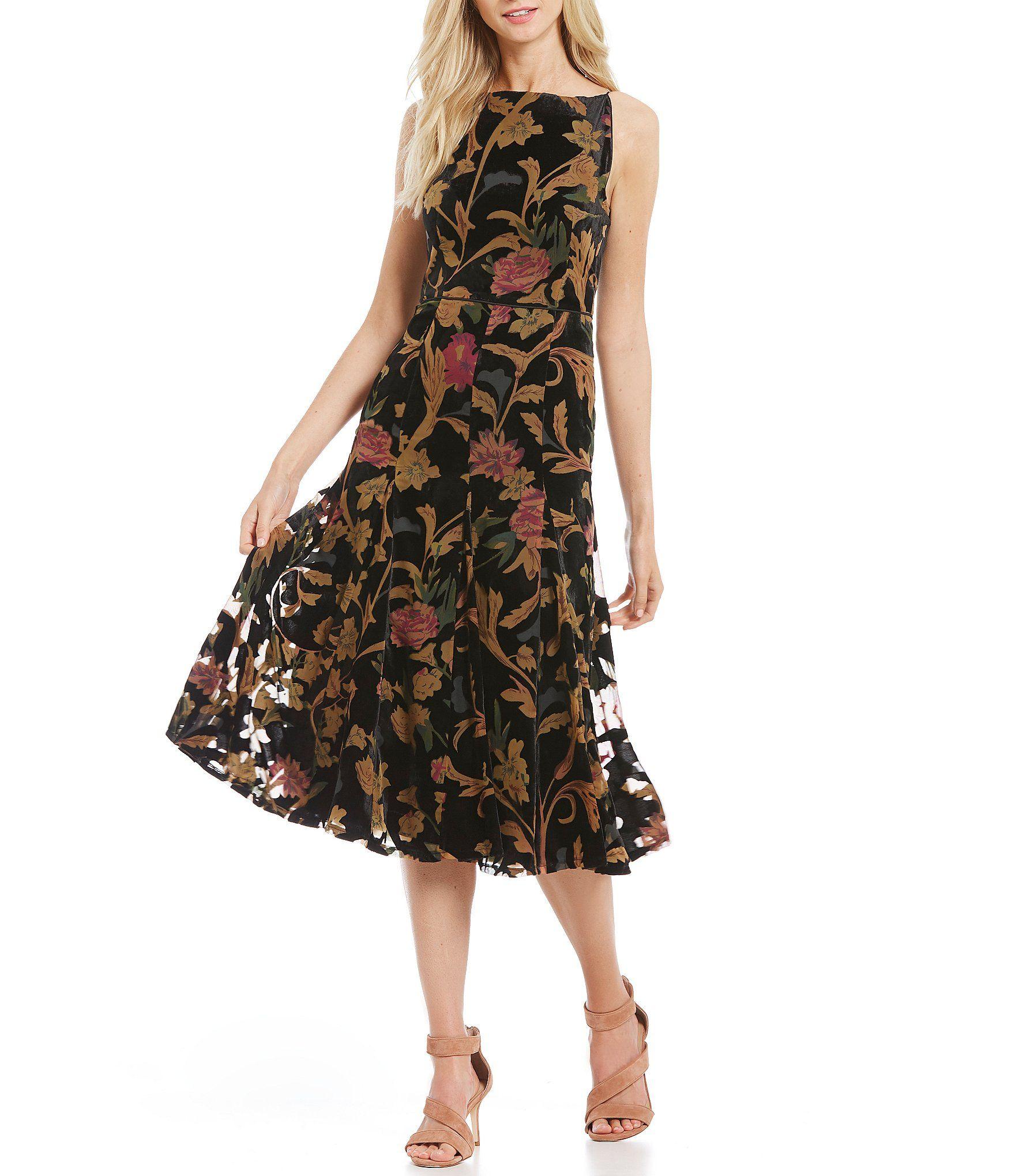4c45df85e70e Shop for Antonio Melani Gigi Velvet Burnout Dress at Dillards.com. Visit  Dillards.com to find clothing