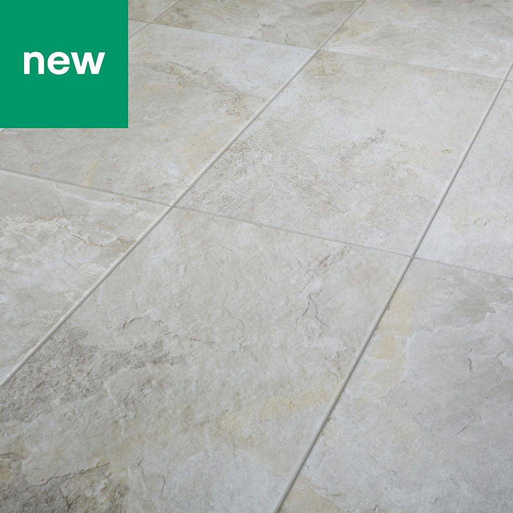 Shaded Slate Beige Matt Stone Effect Porcelain Floor Tile Pack Of 6 L 600mm W 300mm Porcelain Flooring Tile Floor Porcelain Floor Tiles