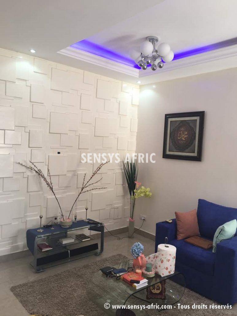 Decoration Salon Piece De Sejour Hall A Dakar Senegal Sensys Afric Decoration Salon Moderne Decoration Salon Design Salon