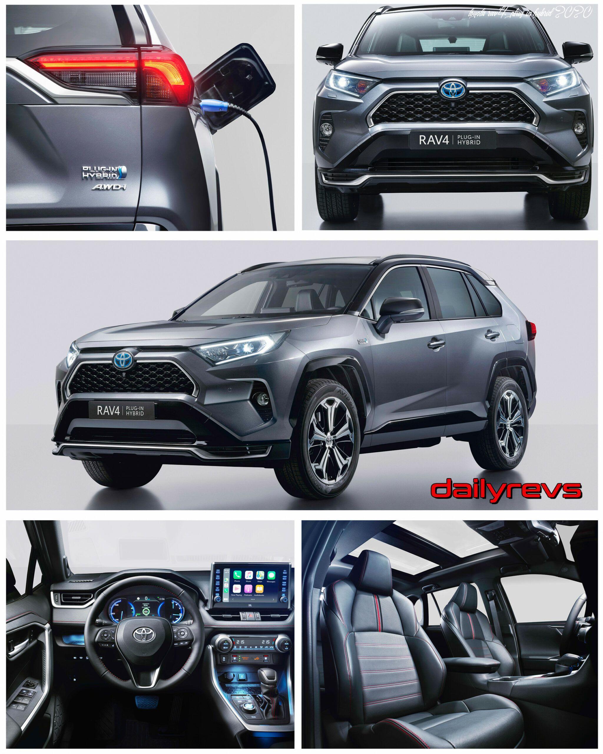 Toyota Rav4 Plug In Hybrid 2020 In 2020 Rav4 Hybrid Rav4 Toyota