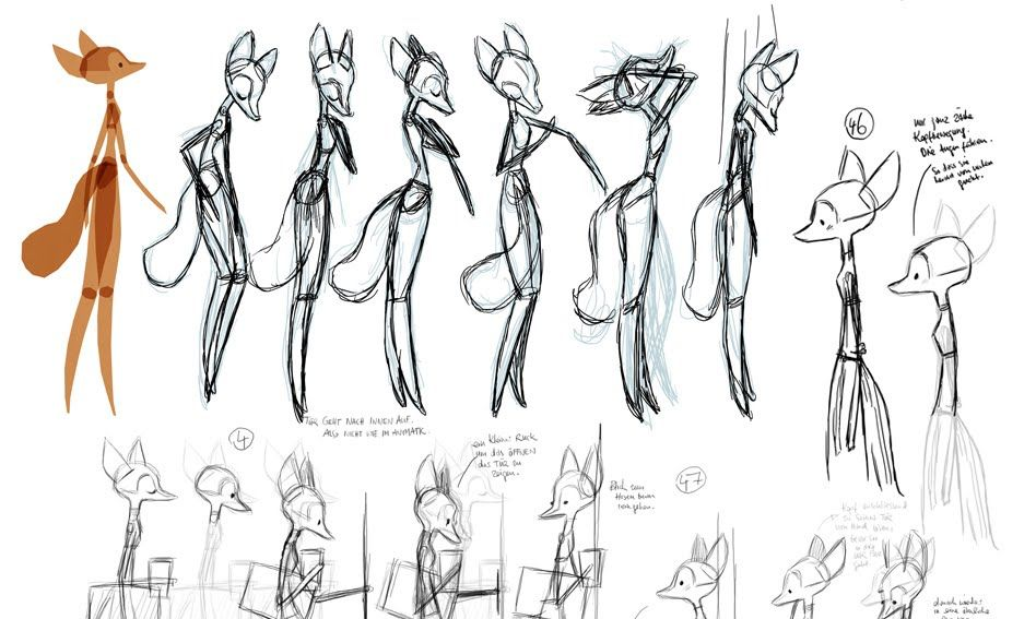 """Character model sheet for """"The Toto Brand"""" (gb.toto.com/company/about/) Illustrated by  animation director and character designer Uwe Heidschötter - heidschoetter.blogspot.com"""