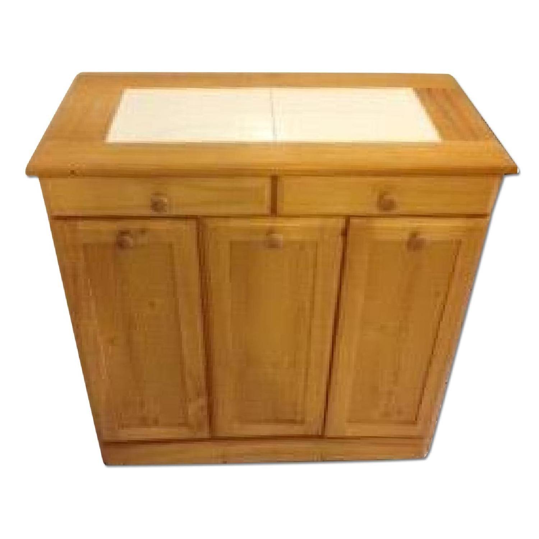 Seventh Avenue 3-Bin Recycling Cabinet | 5 + 28 + 4 - 4 | Pinterest