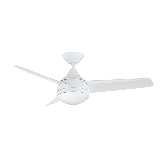 42 Rocket 3 Blade Ceiling Fan With Wall Remote Ceiling Fan Fan Light Ceiling Fan With Light