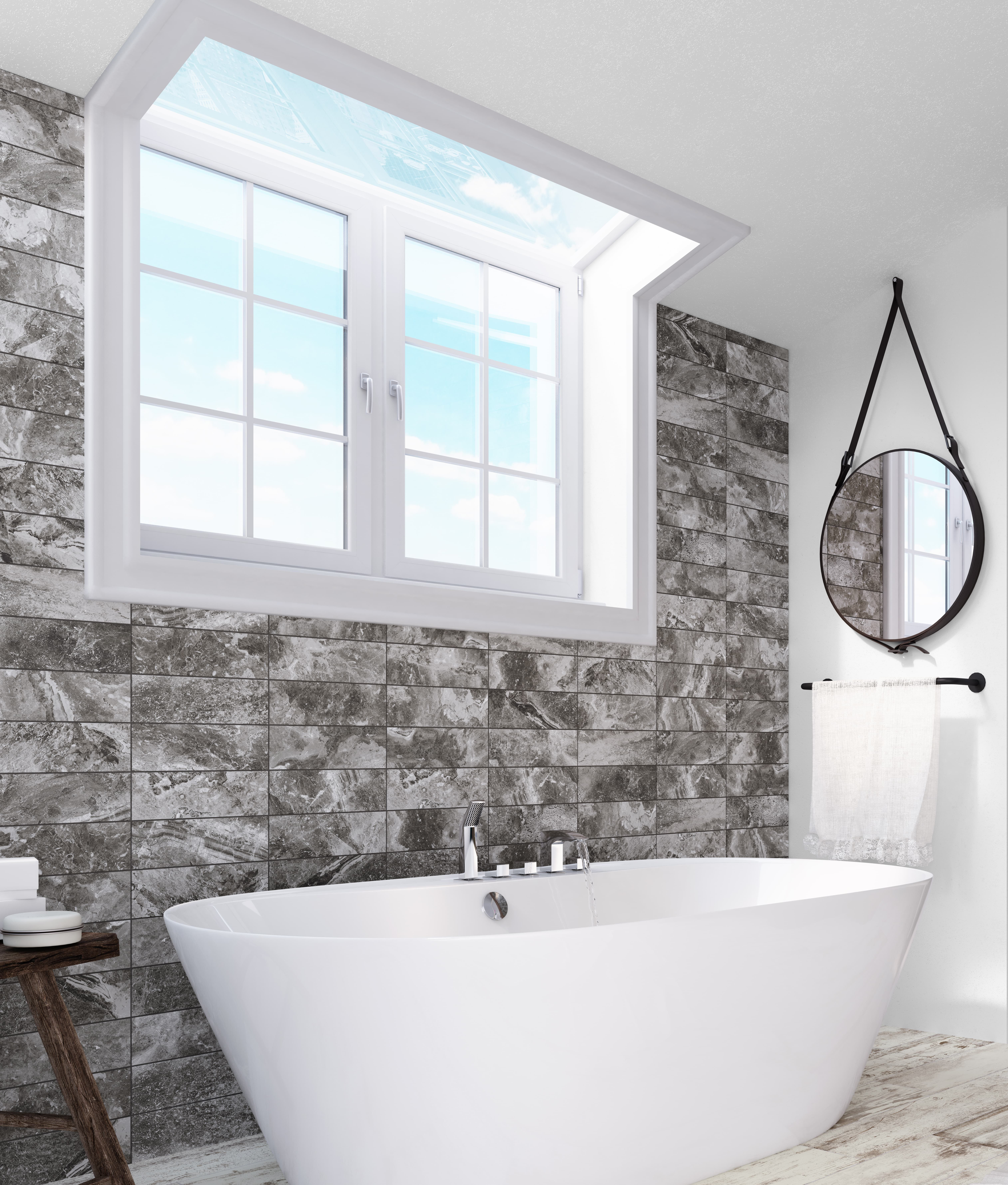 It recognizes a high quality bathroom when it is made of luxurious ...