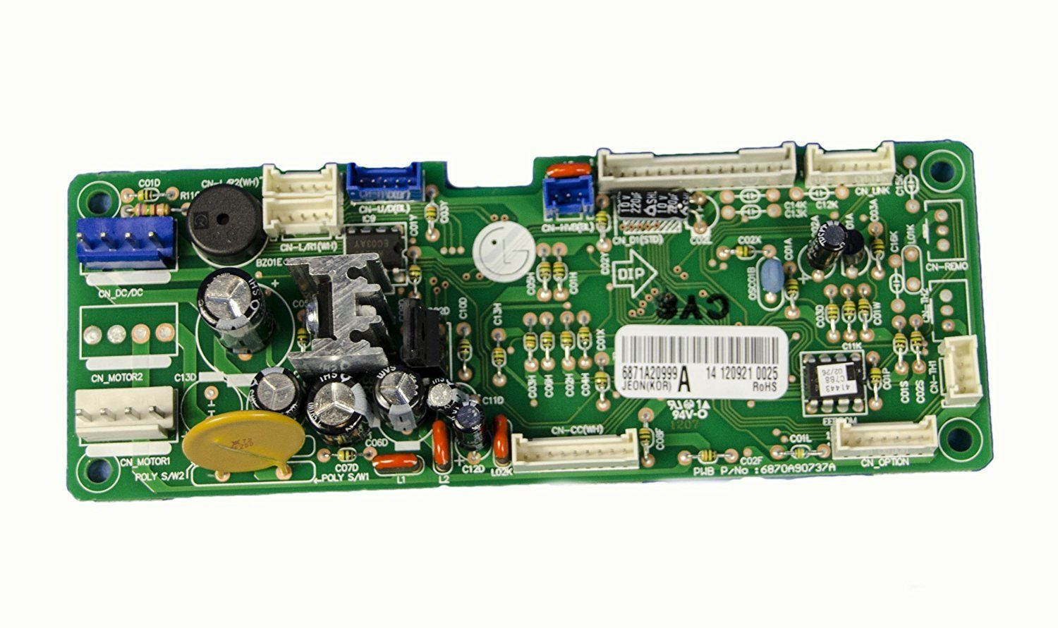 LG Electronics 6871A20999A Air Conditioner Main PCB