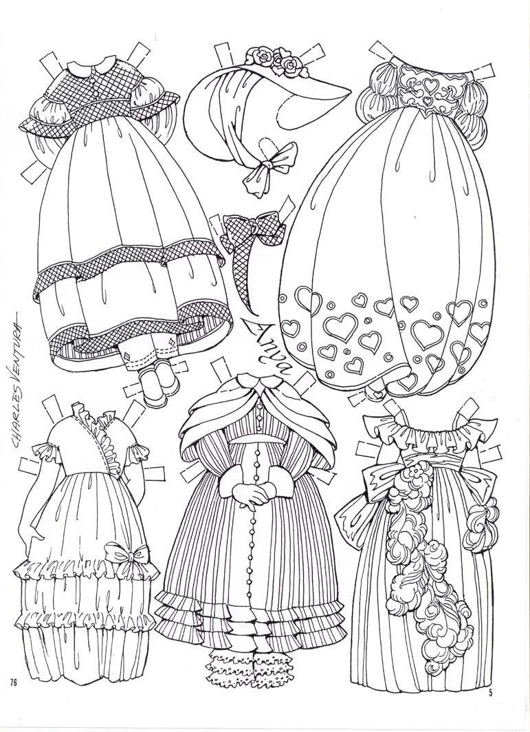 Anya Imagines by C. Ventura - clothesage #5 | RECORTABLES PARA ...