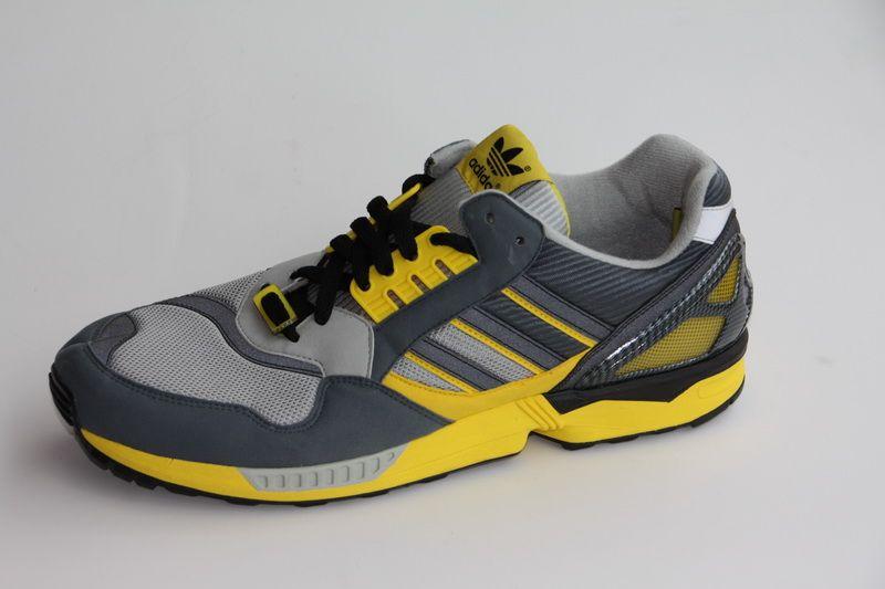 Adidas ZX9000 Crooked Tongues Consortium grau gelb 45,3 US
