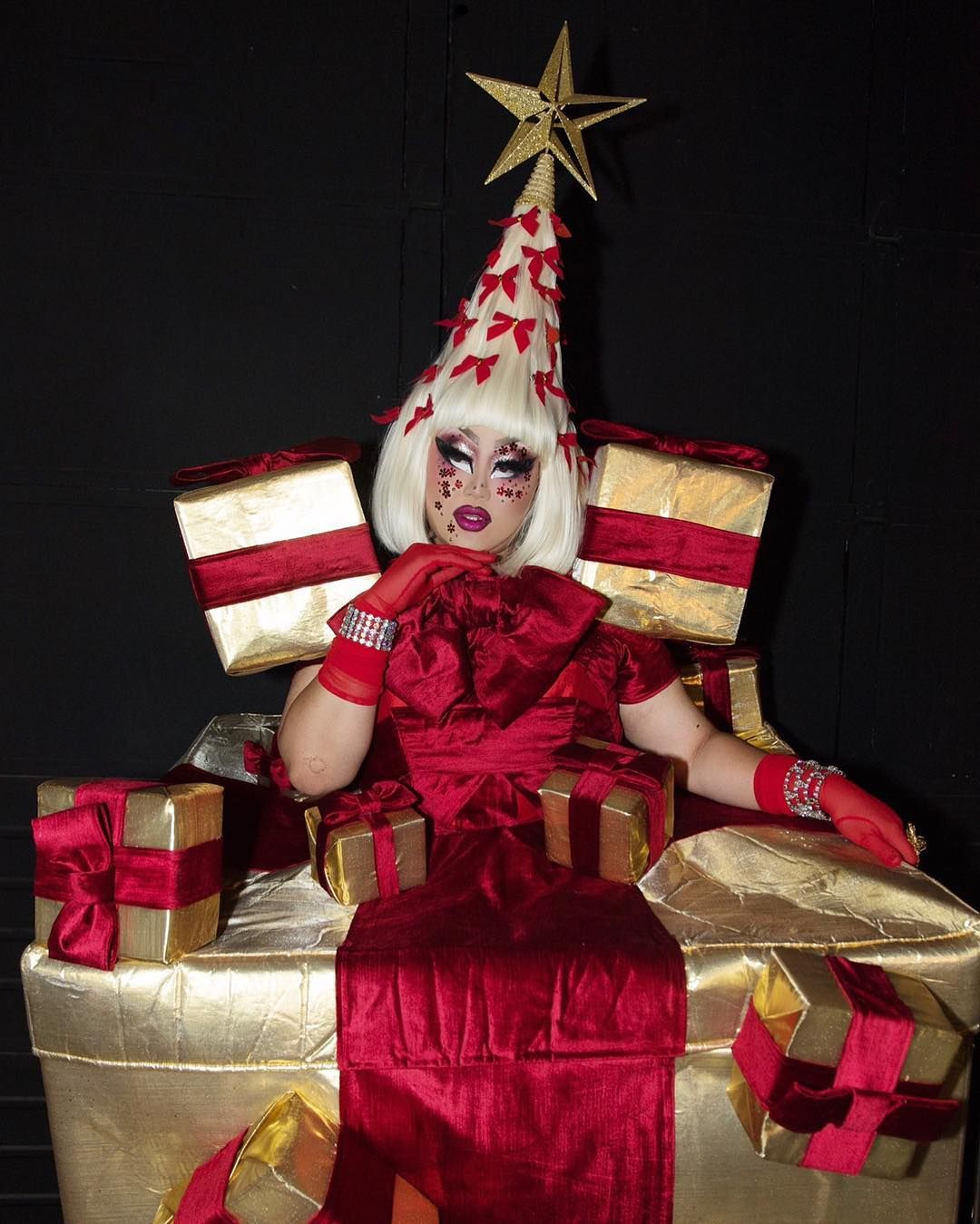 Rupauls Christmas Special.Kim Chi On Instagram I M Living In The Present Merry