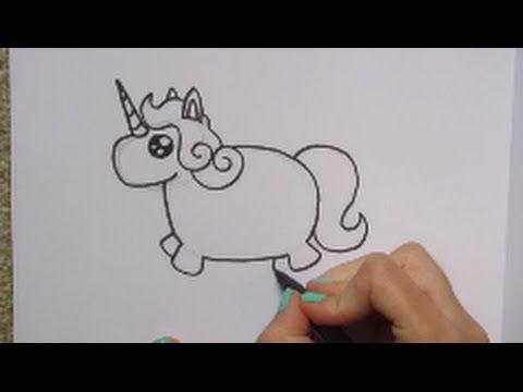 Schattige Dikke Eenhoorn Tekenen How To Draw 45 Fat