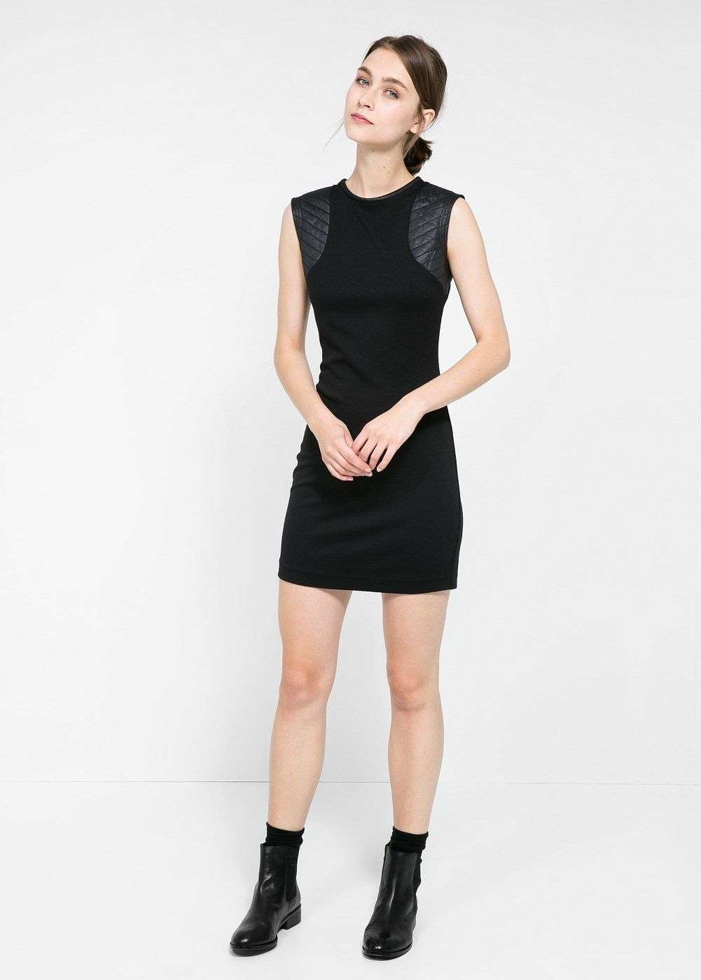 853f799a45c4 Robe épaules matelassées - Femme