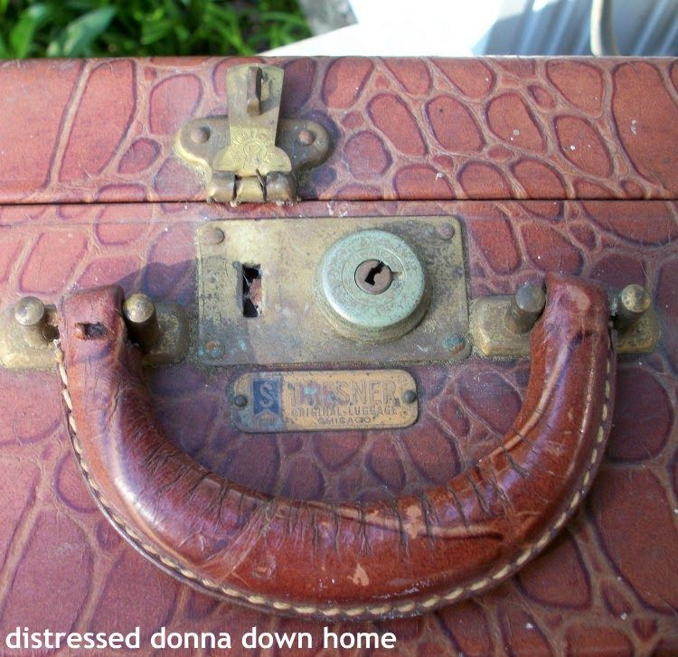 Distressed Donna Down Home: luggage