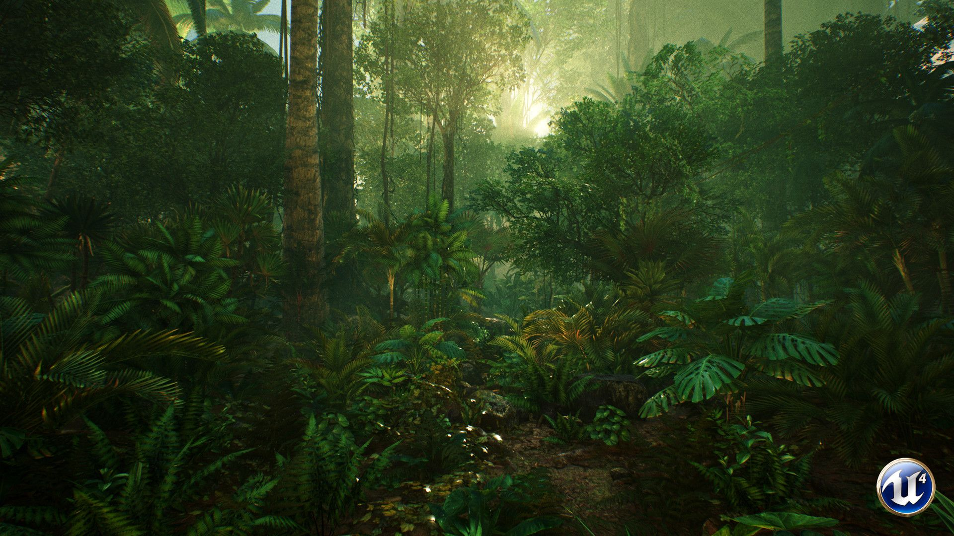 Tropical Artwork Artstation Ue4 Tropical Jungle Paolo Boissel Jungle