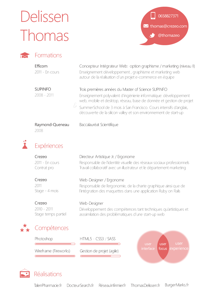 resume. Ui Designer Resume. Wpazo Resume For Everyone