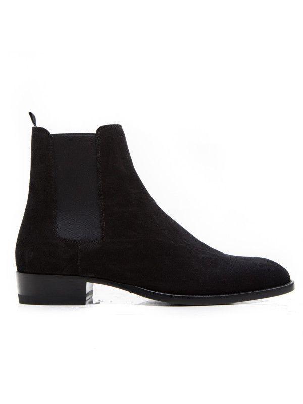c979b111748 Saint Laurent Paris Schoenen 443208 / BT300 / 1000 Zwart | Boots ...