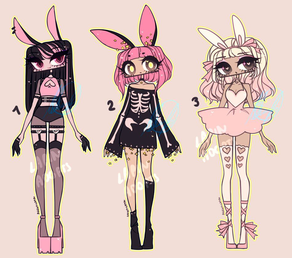 Photo of PINK BUN ADOPTS by agent-lapin on DeviantArt