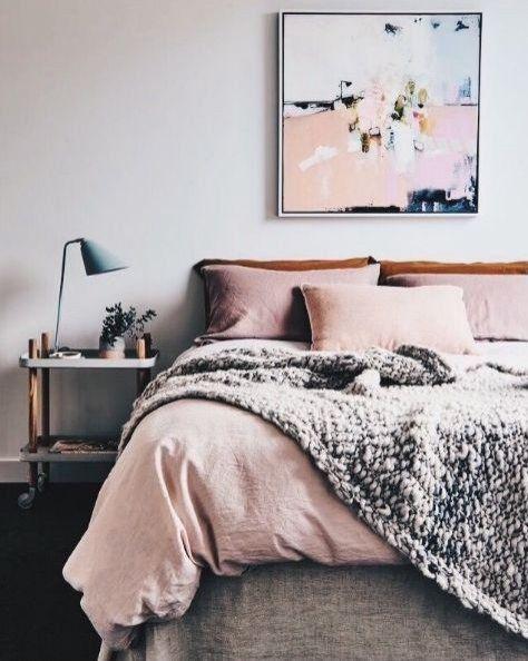 Sypialnia Szaro Różowa Płońsk Wersja 1 Home Bedroom