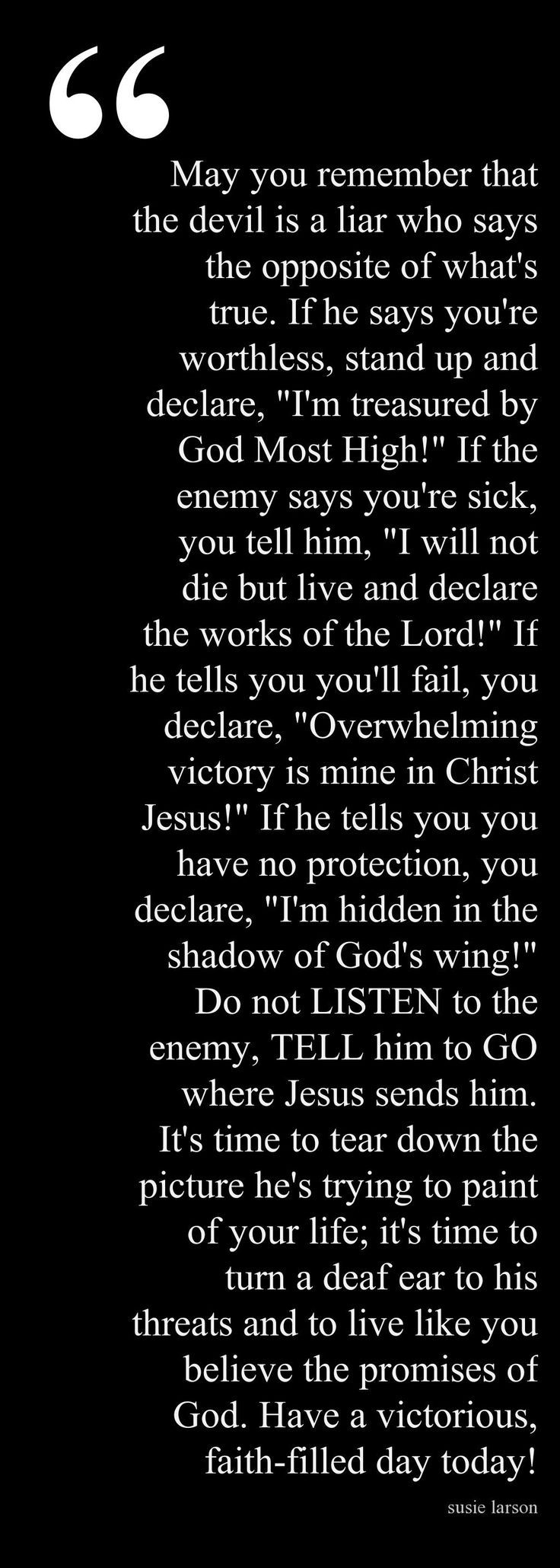 Actually kind a cried reading this God is so good and he cares so much for you and I He will never leave you he will never hurt you or forsake you