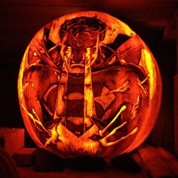 Spiderman pumpkin carving halloween t pumpkin superman pumpkin carving maxwellsz