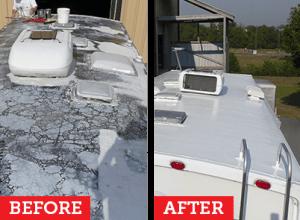 Rv Roof Repair The Ultimate Guide Rv Trailer Roof Repairs Rv Roof Repair Rv Trailers Travel Trailer Remodel