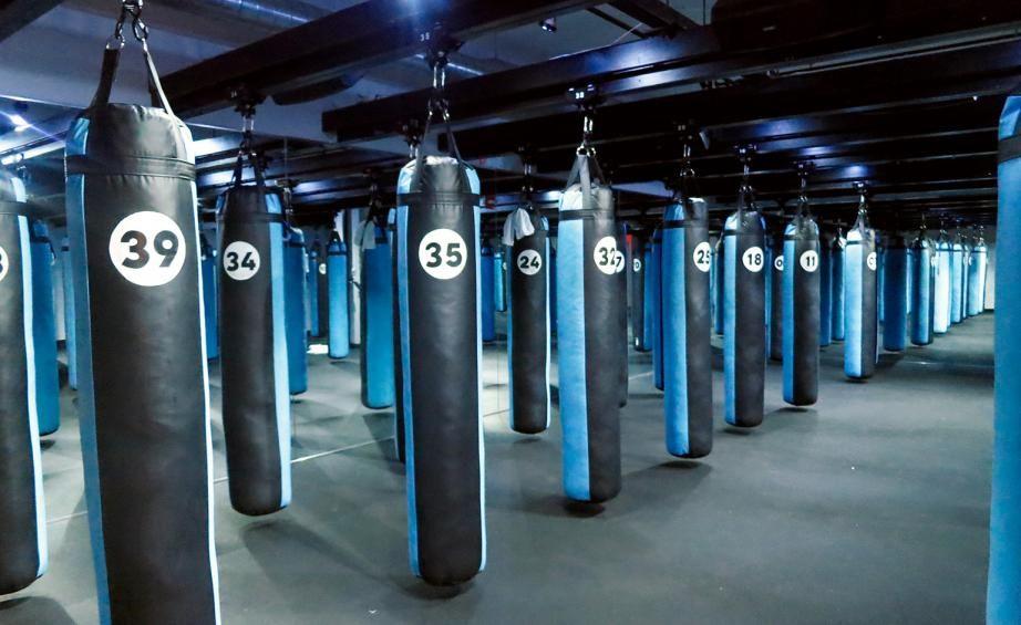 Shadowbox Nyc S Boutique Boxing Studio Boxing Gym Shadow Box Boxing Gym Design