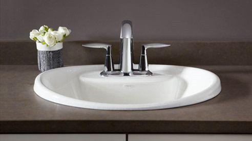 Drop In Sinks Kohler Bathroom Sink Drop In Bathroom Sinks