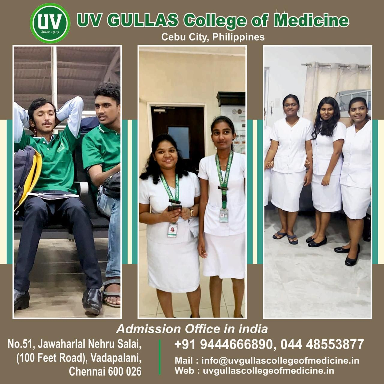 UV Gullas College of Medicine in Philippines in 2020