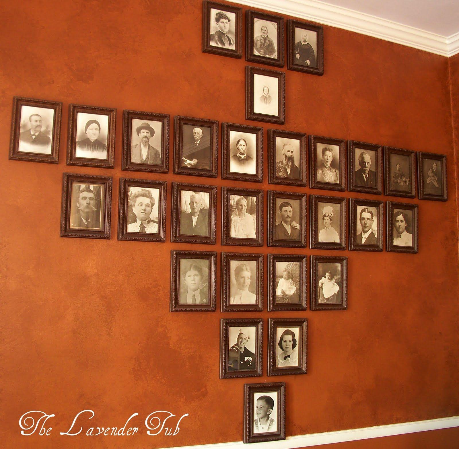 Genealogy Office In Living Room