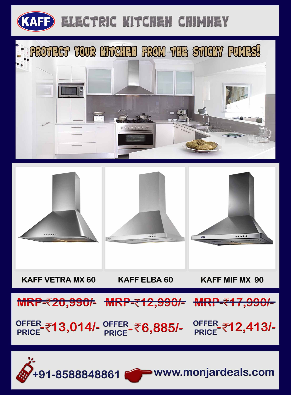 Uncategorized Online Kitchen Appliances Shopping India get offer price on kaff electric kitchen chimney buy best chimney