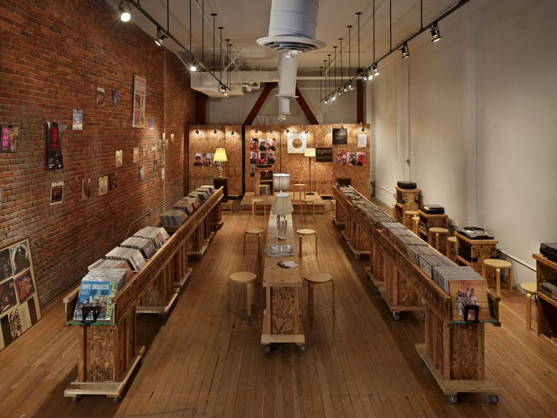 Olson Kundig Architects Projects Record Store Storefront