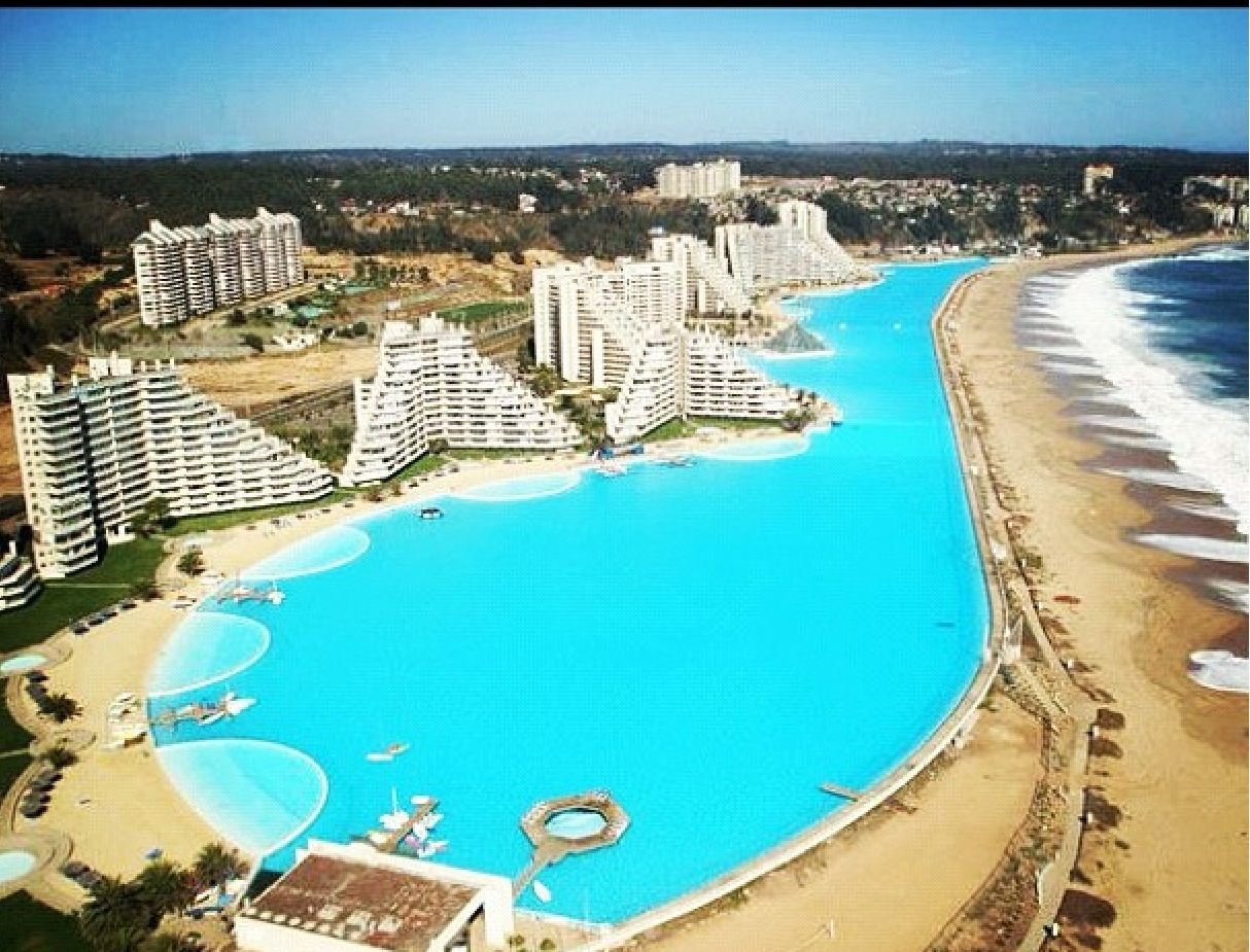 Worlds largest swimming pool future travels pinterest - Where is the worlds largest swimming pool ...