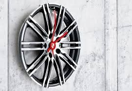 Wall Clocks For Designers Car Part Furniture How To Make Wall Clock Garage Accessories