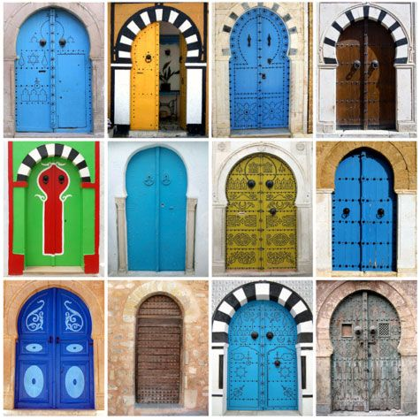 arched doors brightly colored & arched doors brightly colored | For the Home | Pinterest | Doors Pezcame.Com