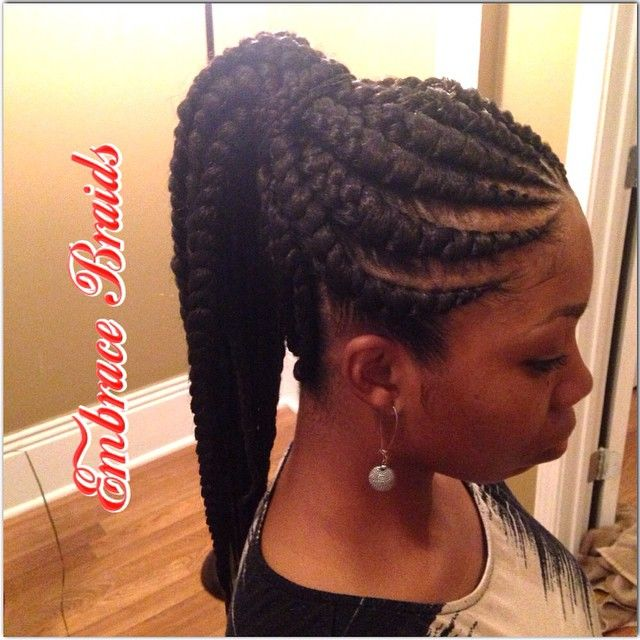 Ghana Braids Ponytail Google Search Cornrow Hairstyles Ghana Braids Braided Cornrow Hairstyles
