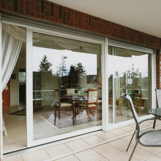 Aluminum Alloy Sliding Door With Wooden Color Design Patio Doors Door Design Sliding Patio Doors