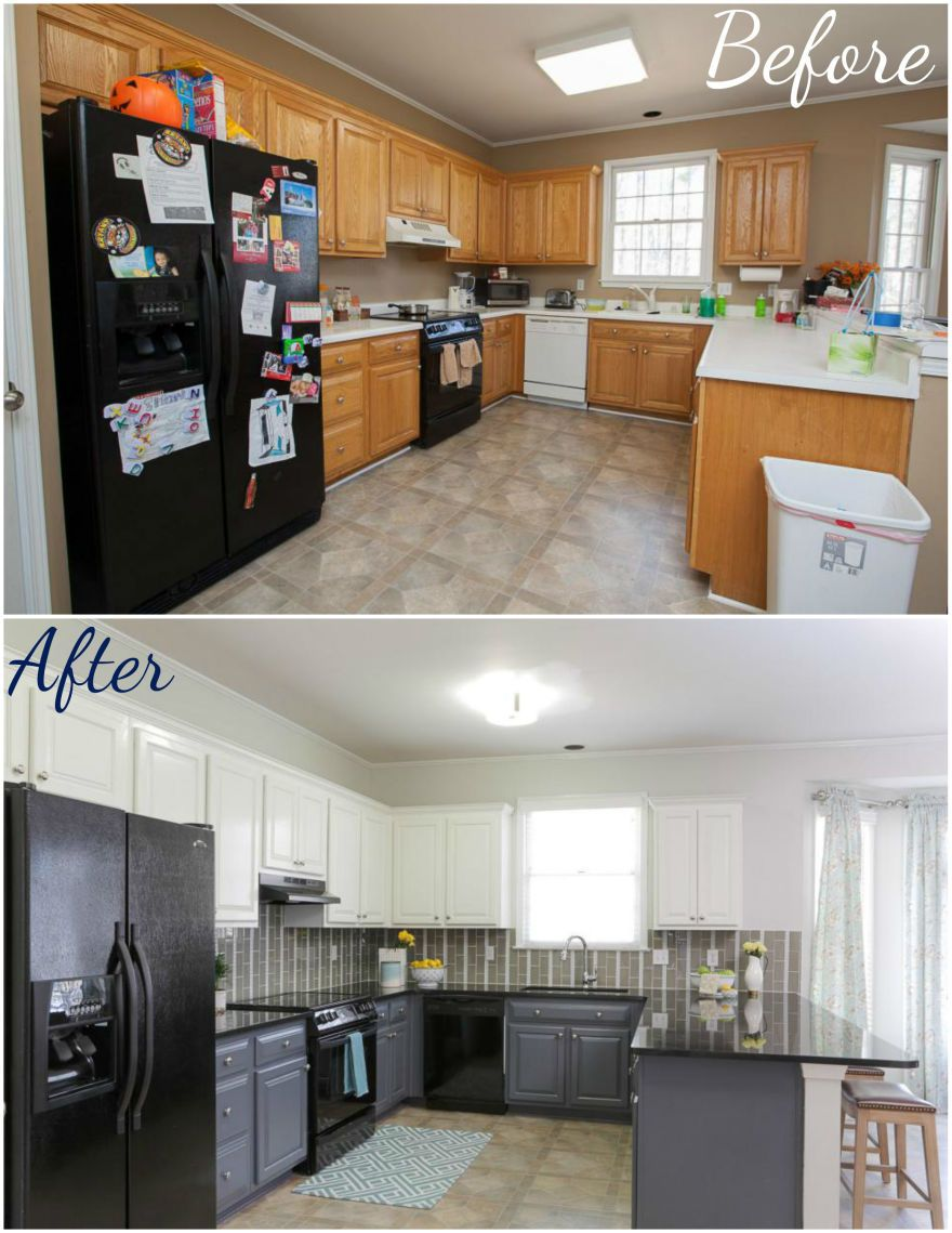 6 Before And After Kitchen Remodels You Ll Love So Much You Ll Want To Start Your Own Kitchen Remodel White Modern Kitchen Home