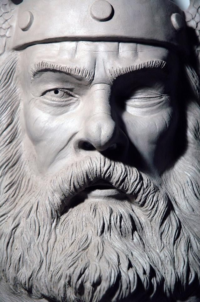 """Odin. Historians say that mythological stories are based on real people. They were """"made"""" into gods by people of long ago."""