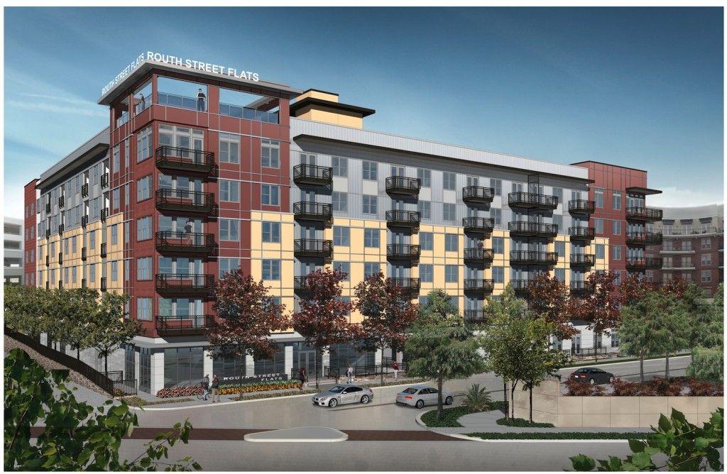 Developer Starts Work On Uptown Dallas Apartment Project Dallas Apartment Apartment Projects Small Buildings