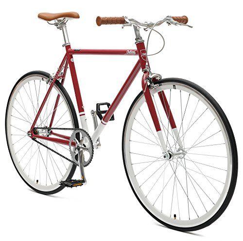 Retrospec Harper Single-Speed Fixed Gear Urban Commuter Bike