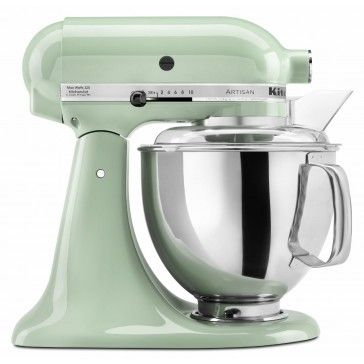 Kitchen Aid Artisan Pistachio Stand Mixer 5 qt (I could also see myself getting this mixer in a dark blue color)