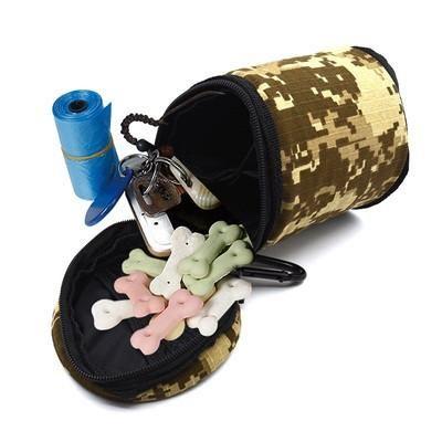 Portable Dog Feeding bag Pet Puppy Pouch Walking Food Treat Snack ...