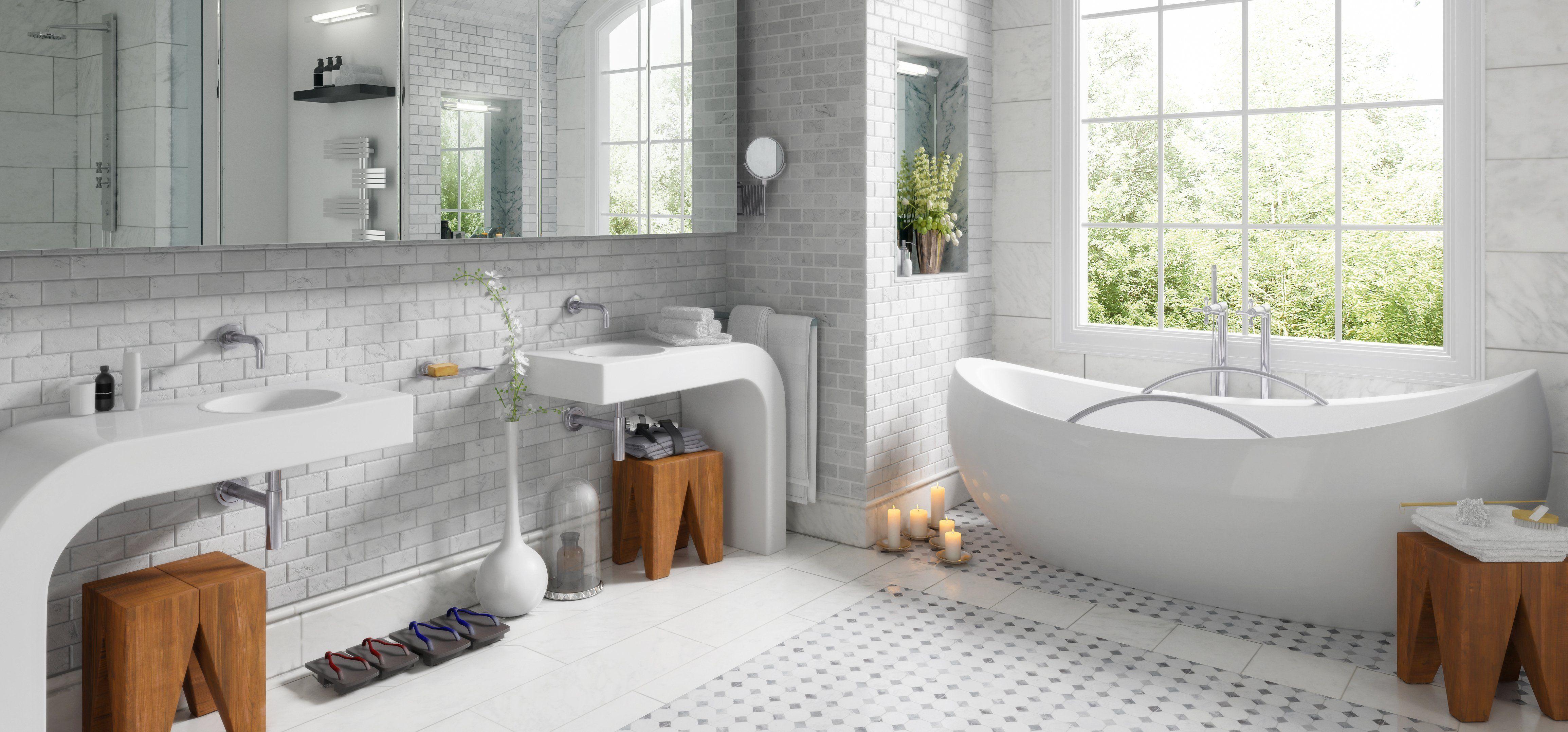 Kosten Fur Die Badsanierung Badsanierung Sanierung Badezimmer Design